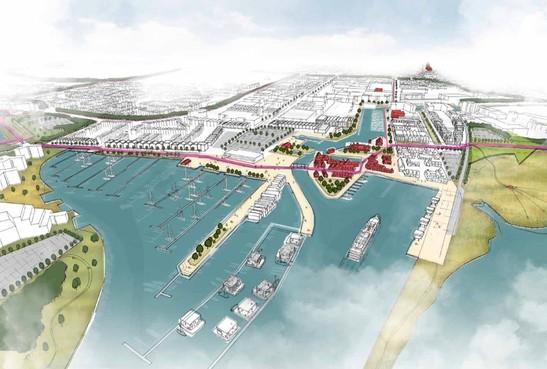 Aangescherpte Kustvisie vol plannen; de potentie van de Huizer haven(s)
