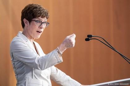 Kramp-Karrenbauer nieuwe defensieminister