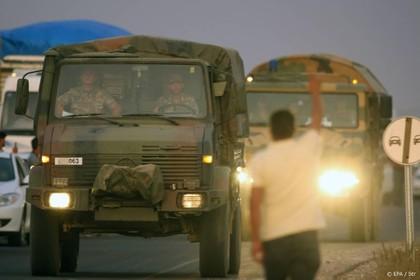 Turkse troepen trekken Noord-Syrië binnen