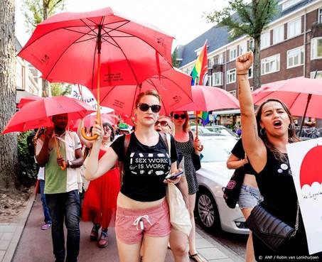 Sekswerkers voeren campagne in Amsterdam
