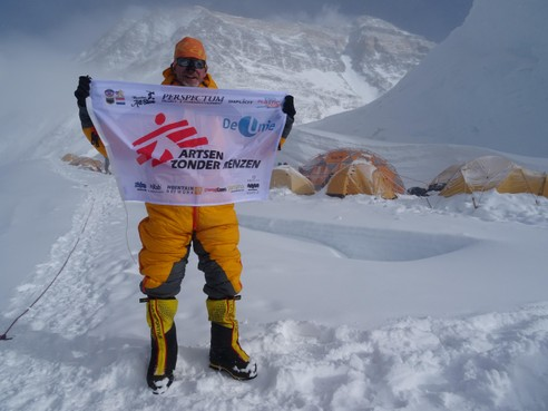Wilco Dekker schrijft boek over beklimming van Mount Everest