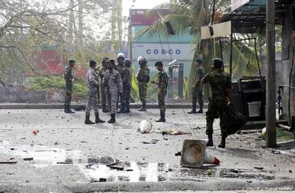 Bom en ontstekers ontdekt in Sri Lanka
