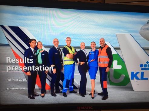KLM voert nieuwe klasse in toestellen in