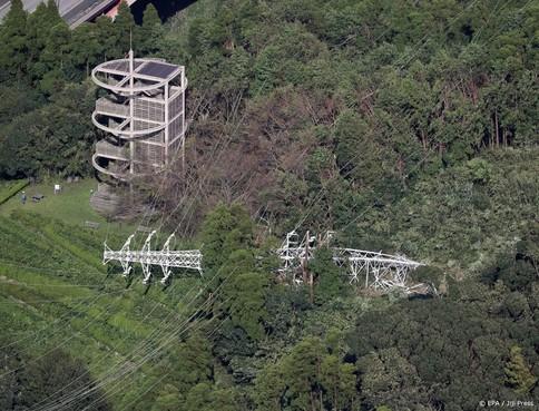 Nog tienduizenden huizen Japan zonder stroom