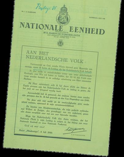 Geheime correspondentie geeft inkijkje in de geest van foute Hilversumse burgemeester