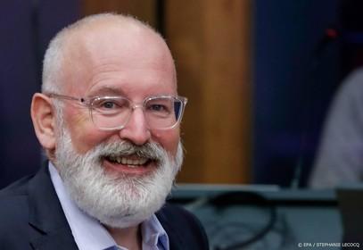 Timmermans: roer radicaal om voor Green Deal