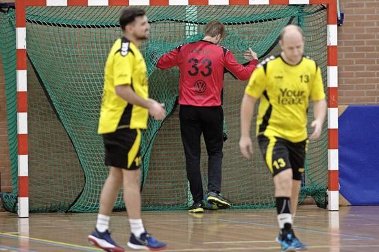 Toekomst van plots toch niet gedegradeerde handballers van HV Eemland ondanks 'handhaving' onzeker: 'Er zal hier nog heel wat moeten gebeuren wil er komend seizoen een eerste divisie-waardig team staan'