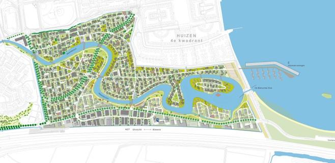 Eindelijk 20 drijvende woningen in Gooimeer; 'Echte huizen hè, geen woonboten'