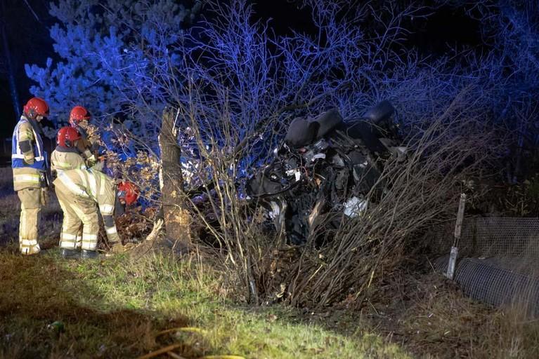 Bestuurder ernstig gewond bij eenzijdig ongeval in Bussum