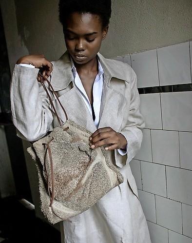 Luxe tassen gemaakt van koeienmagen