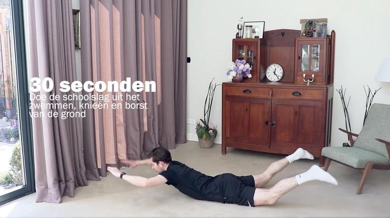 Mike van den Ban: 'Blijf het belang van bewegen benadrukken'