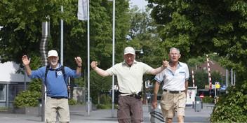 Dit jaar de 35ste en allerlaatste Kennedymars door de regio Gooi en Vechtstreek