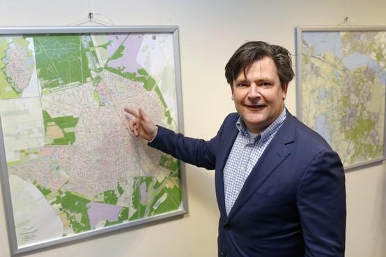 Wethouder Floris Voorink over het groene licht voor 'sleutelgebied Hilversum' : '10.000 Huizen? Het kunnen er ook 7.000 zijn'