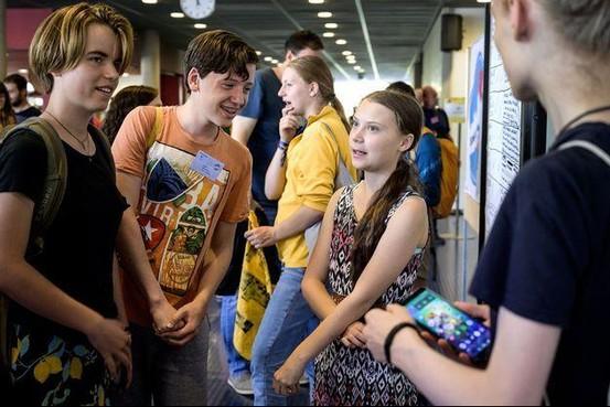 Klimaattop maakt grote indruk op Erik Christiansson (15): 'Ik leer hier jongeren van over de hele wereld kennen, allemaal met hetzelfde doel'