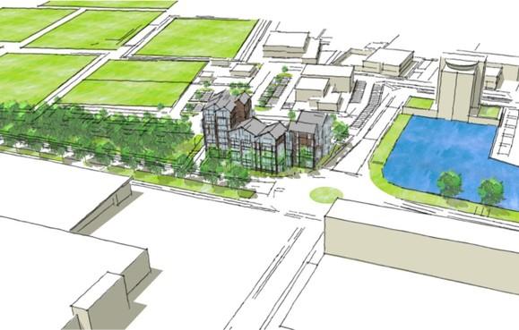 Silverdome-plan 'positief ontvangen': 53 appartementen op plek voormalige disco in Huizen