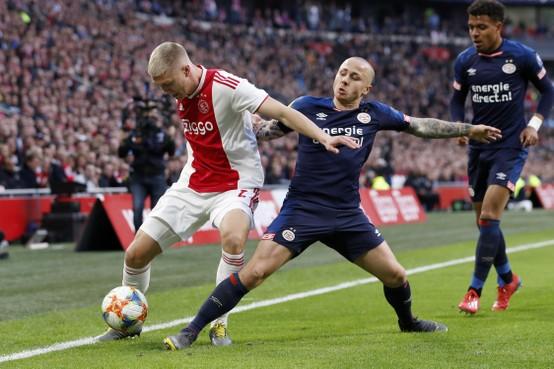 Ajax vindt voormalig PSV-linksback Angeliño 'op termijn zeer interessant'