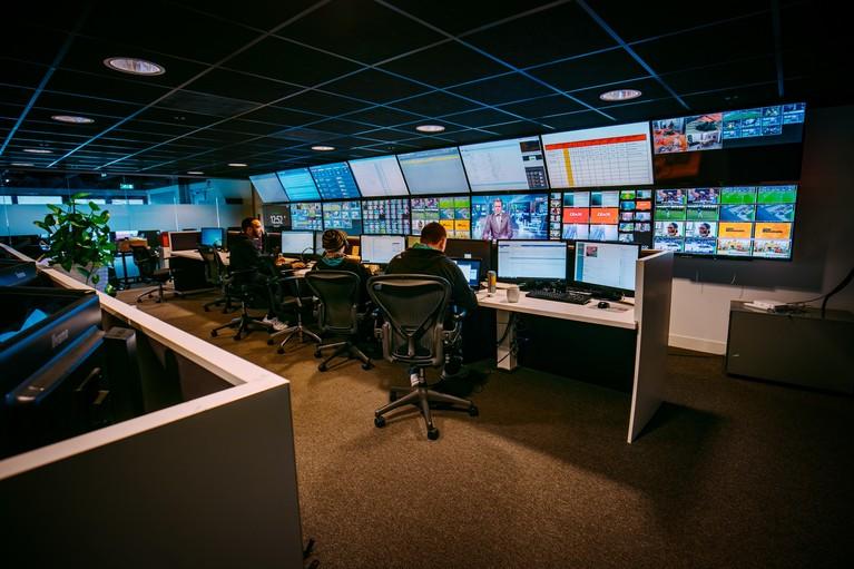 Topman Ralf van Vegten van mediareus NEP ziet toekomst op het Mediapark zonnig in: 'Er is alle ruimte om verder te groeien'