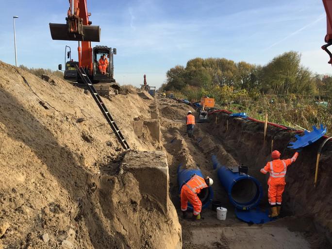 Oudste waterleiding straks als nieuw [video]