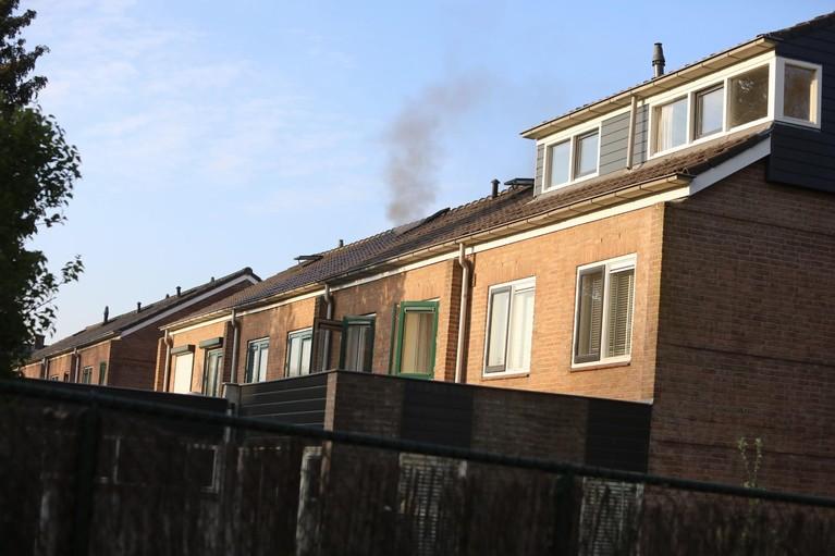 Twee gewonden bij zolderbrand in Soest