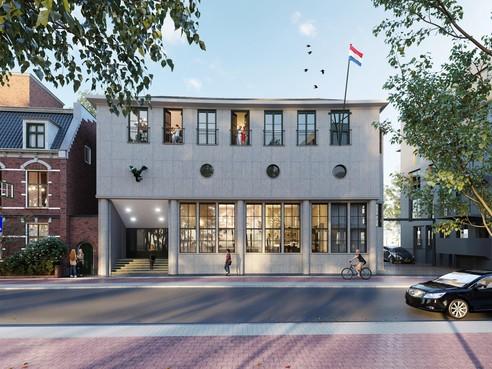 Wonen in het oude Hilversumse postkantoor: verkoop van achttien appartementen, twee stadsvilla's en één woning binnenkort van start