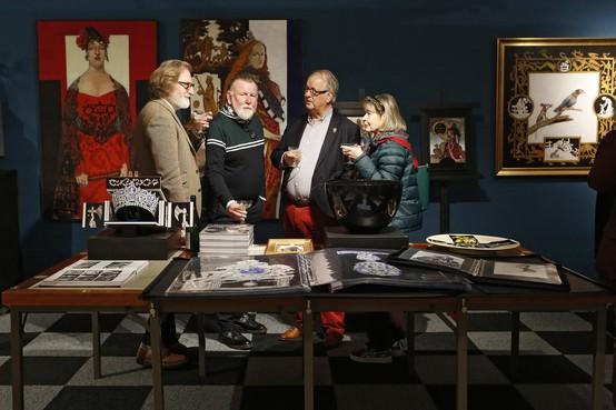 Voor 500 euro heb je al een kunstwerk op The Art Fair in de Grote Kerk in Naarden-Vesting
