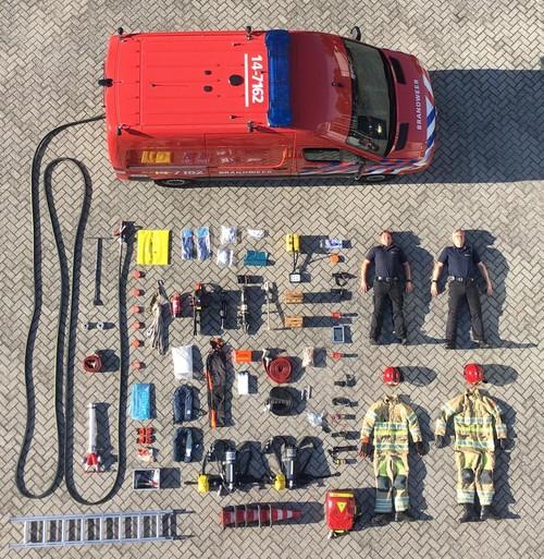 Hulpdiensten laten alle spullen zien in tetrischallenge [video]