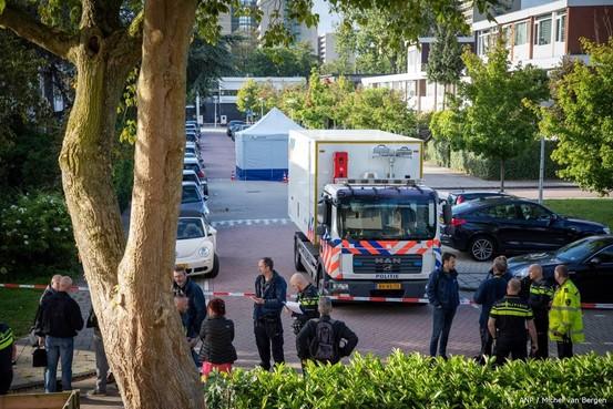 Politiepost in straat waar advocaat is vermoord