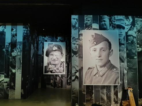 'Hij of ik', expositie over hoe soldaten van beide kampen overleefden in de oorlog