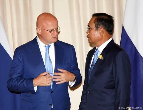 Minister spreekt in Bangkok over Van Laarhoven