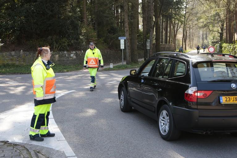 Drukte in Gooise recreatiegebieden valt mee; parkeerplaatsen blijven tot 6 april gesloten