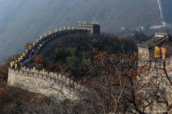 Deel Chinese Muur dicht voor bezoekers om coronavirus