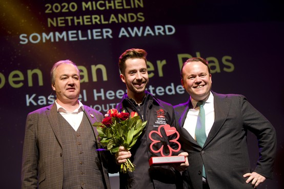 Restaurants in Gooi, Eemland en de Vechtstreek houden hun Michelinsterren, wel individuele prijs voor Loosdrechtse sommelier