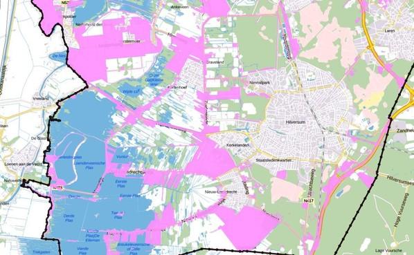 Wijdemeren 'klemgezet' door ruimtelijke plannen provincie; Noord-Holland wil alleen beperkte woningbouw in landelijk gebied