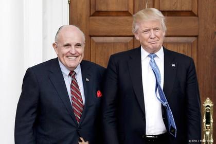 VS pakt zakenlieden rond Giuliani