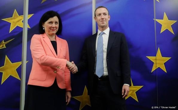 Brussel ziet meer openheid bij Facebook-topman