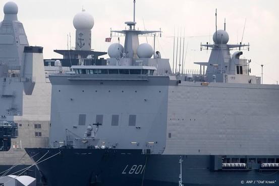 OM wil 5 jaar cel voor drugssmokkel op marineschip