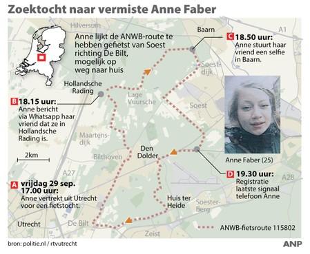Politie 'negeert' azc bij Soesterberg in onderzoek Anne Faber