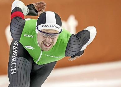 Soester Wesly Dijs twee jaar langer bij commerciële schaatsploeg van Gerard van Velde: 'Het grote doel blijft toch de Spelen van Peking'