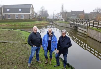 Gele Brug Ankeveen na 75 jaar in volle glorie terug