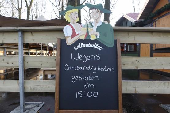 IJsbaan Laren is weer open; Exploitant: 'Zonder biertje en wijntje wordt het moeilijk'