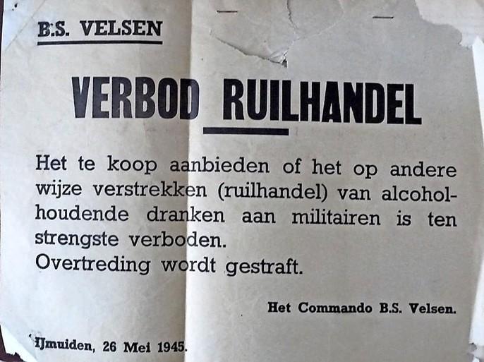 Oorlogsdagboekje op zolder geeft mooi beeld van Velsen in weken na de bevrijding: 'Met name in IJmuiden wordt heel veel vernield. Vele steekwagens zijn er gestolen en ook talrijke motoren zijn ontvreemd'