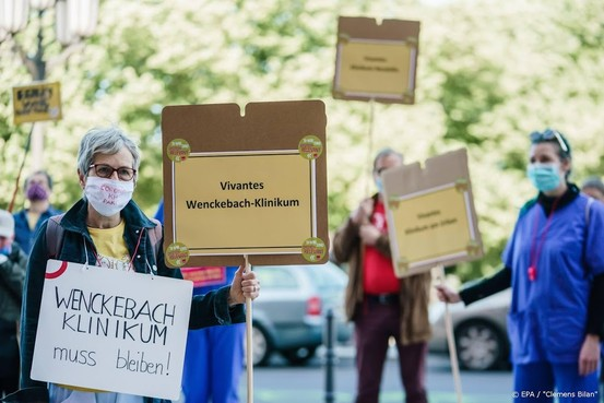 Veel kleine betogingen in Duitsland tegen coronamaatregelen