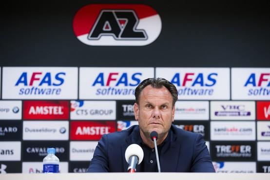 Column Punten van Spaan: vertrouwen in AZ-directeur Robert Eenhoorn