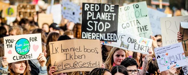 Organisatie hoopt op hoge opkomst: 'Klimaatmars verdient route door centrum van Den Haag'