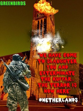 St. Vituskerk Hilversum duikt op in IS-dreigement