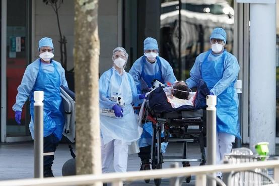 Honderden doden door coronavirus in Frankrijk, onder wie tiener
