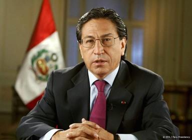 Voormalig president Peru opgepakt in VS