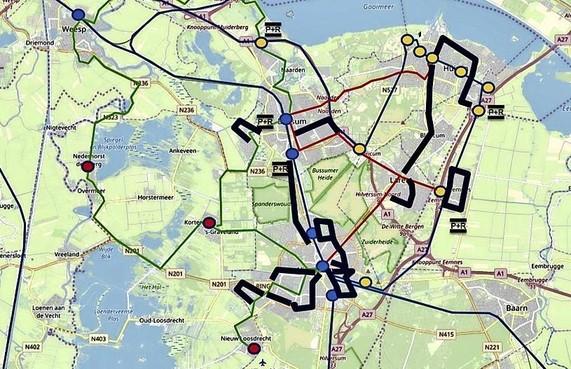GS: geen garantie behoud buslijnen Gooi en Vecht