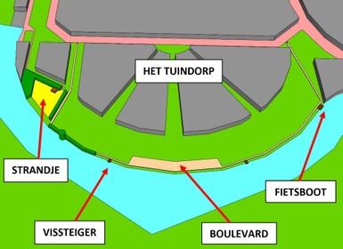 Verzet wijk Tuindorp tegen plan voor boulevard en Eemstrandje Baarn