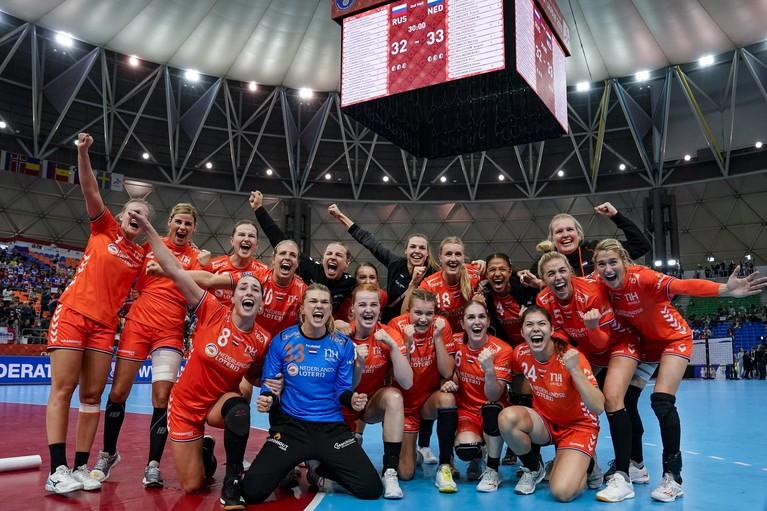 Noord-Hollands getint handbalteam wereldkampioen na zege op Spanje in finale [video]
